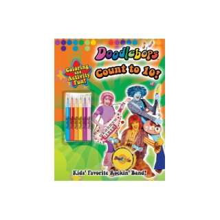 Doodlebops Count to 10! Coloring and Activity Book: Toys & Games