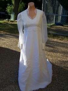 Dress Dresses Vintage Wedding Vintage Lace Antique White Formal Bridal