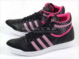 Adidas Top Ten Hi Sleek W Black/Shift Pink/Intense Pink Sports