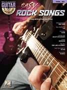 Easy Rock Songs Guitar Play Along Tab Book Cd NEW