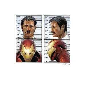 Cover Iron Man, Stark and Tony MasterPoster Print
