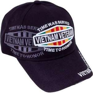 VIETNAM NAM VETERAN VET TIME TO HONOR HAT BALL CAP