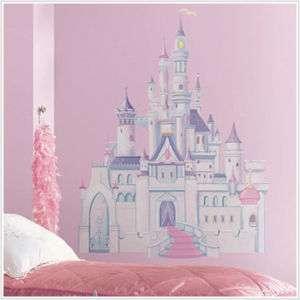DISNEY PRINCESS CASTLE BiG Wall Mural Stickers Room Decor New Girl