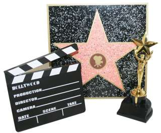 Hollywood Classic Set, trophy, Walk of fame, Clapboard   5408