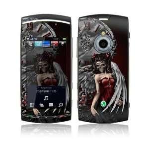 Sony Ericsson Vivaz Pro Skin Decal Sticker   Gothic Angel