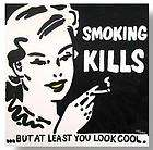 SMOKING KILLS LITHOGRAPH PRINT SIGNED LIMITED EDITION L