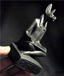 ANUBIS JACKEL HEADED GOD OF THE AFTERLIFE Egyptian Statue ancient