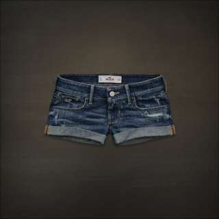 Hollister Bettys Women Shorts 1 9 w25 w29 Lake Hodges Denim Jeans NEW