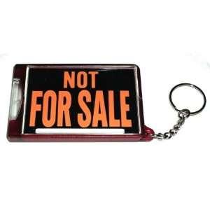 Classic Car Hot Rod NOT for Sale Key Chain Flashlight