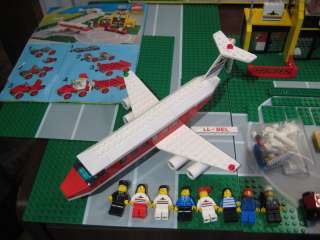 Lego 6392 Airport Runway w/Helicopter, Airplane 1985