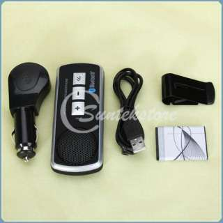 Bluetooth Handsfree Speaker Kit for iPhone 4 4S HTC Android Phone