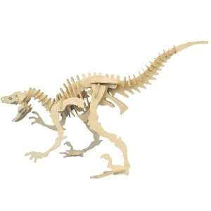 Velociraptor   Quay Woodcraft Construction Kit Toys & Games