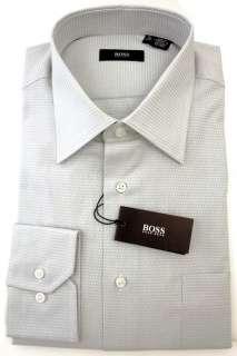 Hugo Boss Clifford Light Blue Mens Cotton Dress Shirt