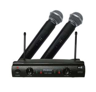 VHF 238N Professional Dual Channel VHF Wireless Microphone System