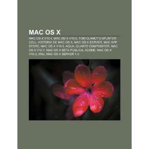 App Store, Mac OS X v10.6 (Spanish Edition) (9781231736074) Source