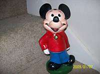 Vintage Walt Disney Mickey Mouse Play Pal Plastic Bank