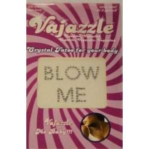 Bundle Vajazzle Blow Me and Aloe Cadabra Organic Lube Lavender 2.5 Oz