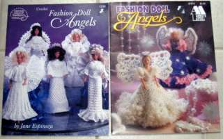 Crochet Fashion Doll Angels , American School of Needlework, 1996, 25