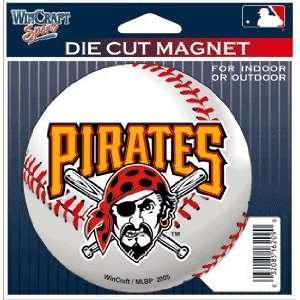 MLB Pittsburgh Pirates Die Cut Magnet
