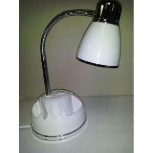Retro Style Full Spectrum Sunlight Desk Lamp White