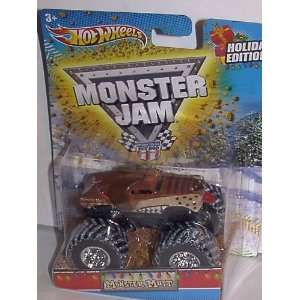 2011 HOT WHEELS CHRISTMAS HOLIDAY EDITION 164 SCALE MONSTER MUTT