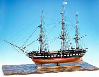MODEL SHIPWAYS USS Constitution wood ship model kit NEW
