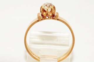 .39CT ANTIQUE ART DECO OLD MINER CUSHION CUT DIAMOND ENGAGEMENT RING
