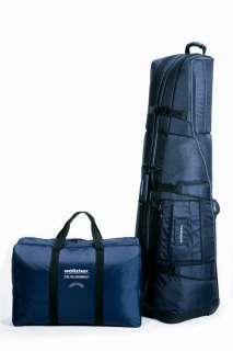 Golf Travel Cover Travel Case Bag with wheels  Navy