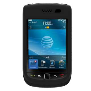 BLACK TRIDENT AEGIS SERIES IMPACT CASE COVER for BLACKBerry Torch 9800