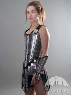 FANTASY LADY WARRIOR FUNCTIONAL ETCHED ARMOR SET SCA LARP MEDIEVAL