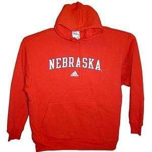 Nebraska Cornhuskers Official Iron Man NCAA Hoody by Adidas (2X