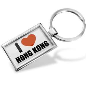 Keychain I Love Hong Kong   Hand Made, Key chain ring: Jewelry