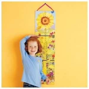 Kids Growth Charts Kids Sunflower & Beanstalk Growth