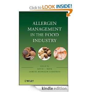 Allergen Management in the Food Industry Joyce I. Boye, Samuel