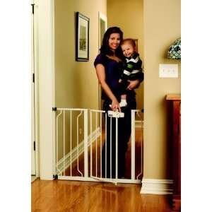 Regalo Easy Step Walk Thru Gate, White: Baby