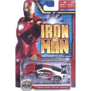 Iron Man 2 3 INCH Die Cast BLACK WIDOW (Street Speeder