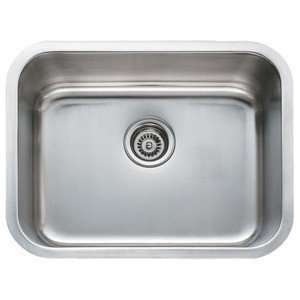 Undermount Single Bowl Kitchen / Bar Sink   18 Gauge Home Improvement