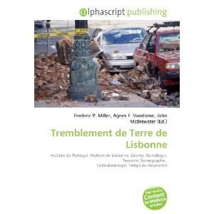 Tremblement de Terre de Lisbonne (French Edition