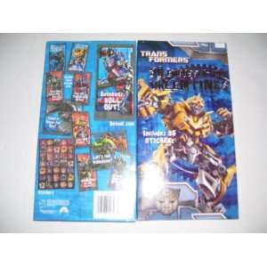 30 Transformers Embossed Foil Valentines Day Cards With 35