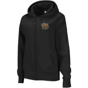 NCAA adidas Wichita State Shockers Black Primary Logo Full Zip Hoodie