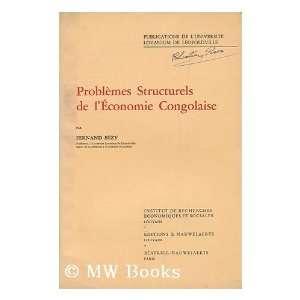economie congolaise / par Fernand Bezy Fernand (1922  ) Bezy Books