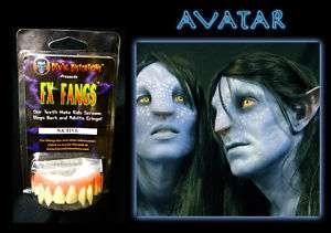 Halloween Foam latex Avatar Teeth Brows Mask lot.