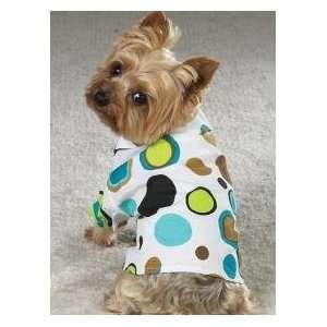 Dog Pet Puppy Camp Shirt Xsmall Dot Dress