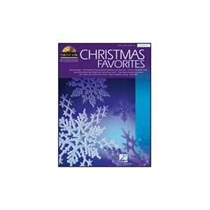 Hal Leonard Christmas Favorites Piano Play Along Volume 12 Book