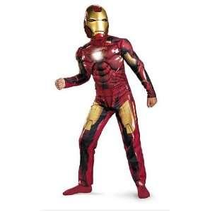 Iron Man 2 Mark Vi Light up Deluxe Halloween Costume Style