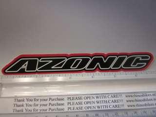 AZONIC Race BMX BIKE RIDE FRAME STICKER DECAL