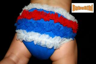 Baby Cloth Diaper Cover/Ruffles/Petti Bloomer PATRIOTIC