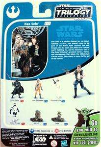 STAR WARS 2004 OTC COLLECTION HAN SOLO FIGURE # 07
