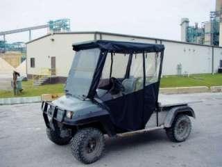 Golf Cart 3 sided Enclosure Club Car Carryall 93 99