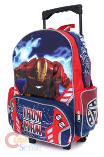 Marvel Iron Man School Roller Backpack 2